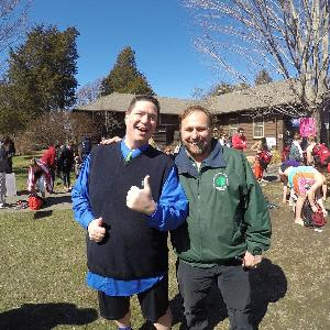 Gary Cremeens Team Captain & John VanValen from NY State Parks